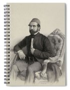 Mehmed Cemil Bey Spiral Notebook