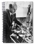 Melvin Calvin, American Chemist Spiral Notebook