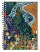 Memory Of The Garden At Etten Spiral Notebook