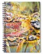 Metal Surface Spiral Notebook