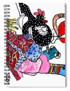 Modern Woman Spiral Notebook
