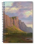 Mount Arapiles And The Mitre Rock Spiral Notebook