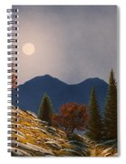 Mountain Moonrise Spiral Notebook