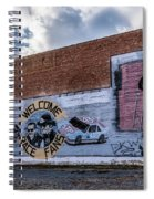Mural - Downtown Bristol Tennessee/virginia Spiral Notebook