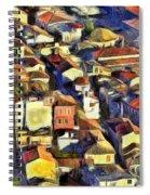 Nafplio Town Spiral Notebook