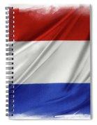 Netherlands Flag Spiral Notebook