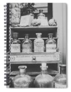 New Orleans Apothecary - Bw Haze Spiral Notebook