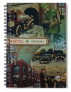 History Of Bristol Tn/va Spiral Notebook