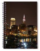 Nightlife In Cleveland Spiral Notebook