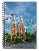 Notre-dame Cathedral Basilica Of Saigon, Officially Cathedral Basilica Of Our Lady Of The Immaculate Spiral Notebook