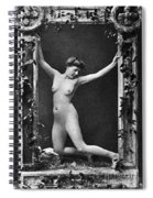 Nude Posing, C1900 Spiral Notebook