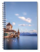 Oberhofen - Switzerland Spiral Notebook