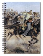 Oklahoma Land Rush, 1889 Spiral Notebook
