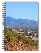 On Top Of A Mountain Spiral Notebook