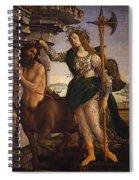 Pallas And The Centaur Spiral Notebook