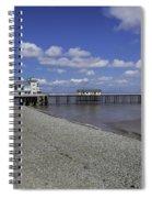 Penarth Pier 3 Spiral Notebook