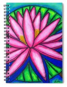 3 Pink Gems Spiral Notebook