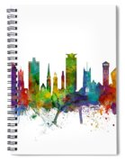 Plymouth England Skyline Spiral Notebook