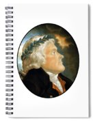 President Thomas Jefferson - Two Spiral Notebook