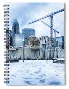 Rare Winter Weather In Charlotte North Carolina Spiral Notebook