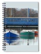 3 Reflections Spiral Notebook