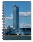 Revel Casino In Atlantic City, New Jersey Spiral Notebook