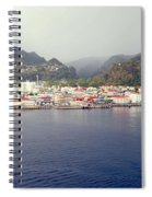 Roseau Dominica Spiral Notebook