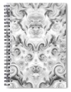 Roses Tapestry And Curls Spiral Notebook