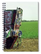 Route 66 - Cadillac Ranch Spiral Notebook