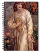 Salutation Of Beatrice Spiral Notebook