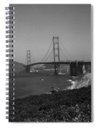 San Francisco - Golden Gate Bridge Spiral Notebook