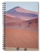 Sand Dune, Sossusvlei, Namib Desert Spiral Notebook
