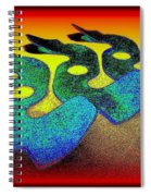 3 Serpents In The Sand  Spiral Notebook