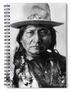 Sitting Bull (1834-1890) Spiral Notebook