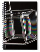 Soap Films On A Cube Spiral Notebook