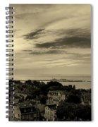 Sopot Poland At Sunrise Spiral Notebook