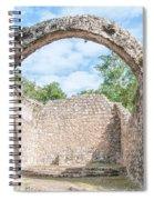 Spanish Chapel At Oxtankah Spiral Notebook