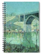 Spring Night Harlem River Spiral Notebook