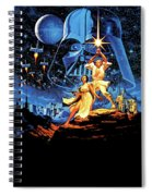 Star Wars Episode Iv - A New Hope 1977 Spiral Notebook