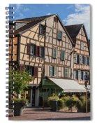 Streets Of Colmar Spiral Notebook