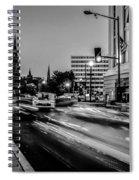 Streets Of Washington Dc Usa Spiral Notebook