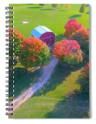 Sunset Hill Farms Indiana  Spiral Notebook