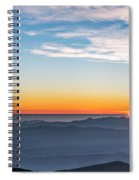 Sunset Over The La Silla Observatory Spiral Notebook