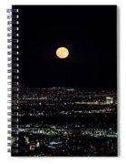 Super Moon In Las Vegas Spiral Notebook