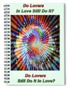 Supernova Of Love Spiral Notebook