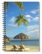 Tahiti, Bora Bora Spiral Notebook