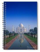 Taj Mahal View Spiral Notebook