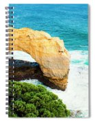 The Arch At Port Campbell National Park Spiral Notebook