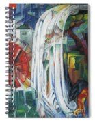 The Bewitched Mill Spiral Notebook