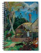 The Black Pigs Spiral Notebook